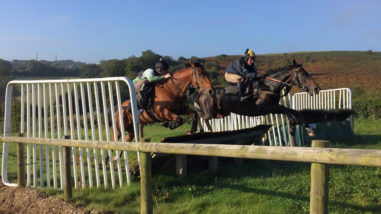 Dalaman Schooling 9th Oct 2015 | Syndicate Racehorse Ownership - Diamond Racing